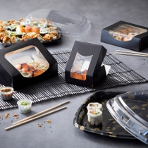 Emballages sushis