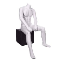 Mannequin homme assis