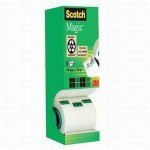 Adhésif Scotch Magic 33m x 19mm - 7 rouleaux + 1 Gratuit