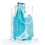 Ice.bag® classic clear king size transparent - 15+15x27,5cm x120 pcs