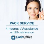 Pack de 4h d'assistance en télémaintenance