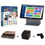 Pack encaissement cash office tactile spécial solderies