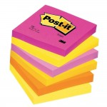 Post-it cube tutti frutti 76 x 76 mm - par 6
