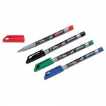 Stylos feutre permanent 'write 4 all' x 4 couleurs assorties