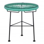 Table acapulco bleue turquoise